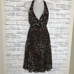 Dresses & Skirts - Leopard Halter Dress